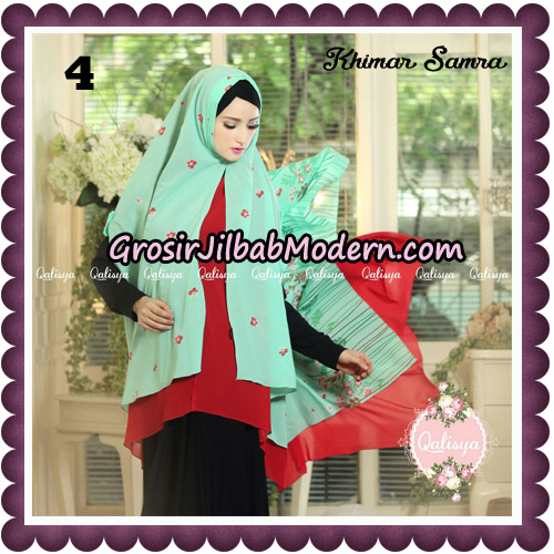 Jilbab Syari Khimar Samra Original by Qalisya Hijab Brand No 4
