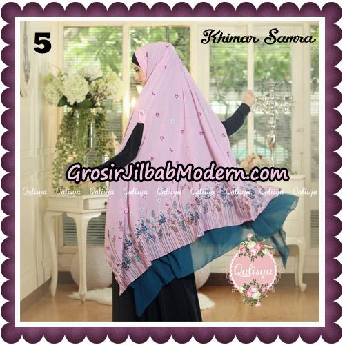 Jilbab Syari Khimar Samra Original by Qalisya Hijab Brand No 5