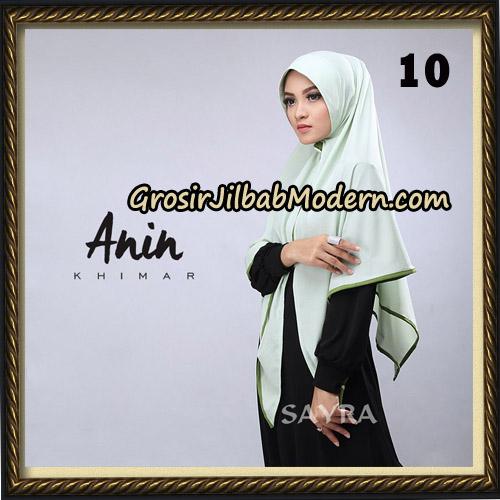 Jilbab Instant Anin Khimar Original By Sayra Hijab Brand No 10