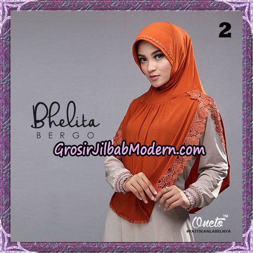 Jilbab Instant Bhelita Bergo Original By Oneto Hijab Brand No 2