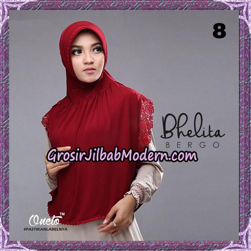 Jilbab Instant Bhelita Bergo Original By Oneto Hijab Brand No 8