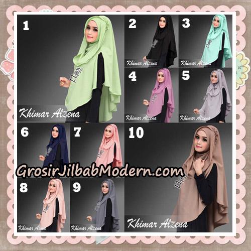 Jilbab Instant Cantik Khimar Alzena Original By Flow Idea