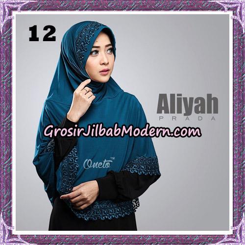 Jilbab Cantik Aliyah Prada Original By Oneto Hijab Brand No 12