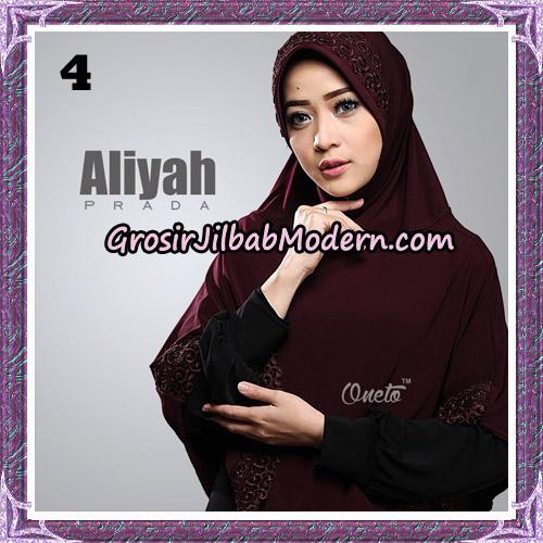 Jilbab Cantik Aliyah Prada Original By Oneto Hijab Brand No 4