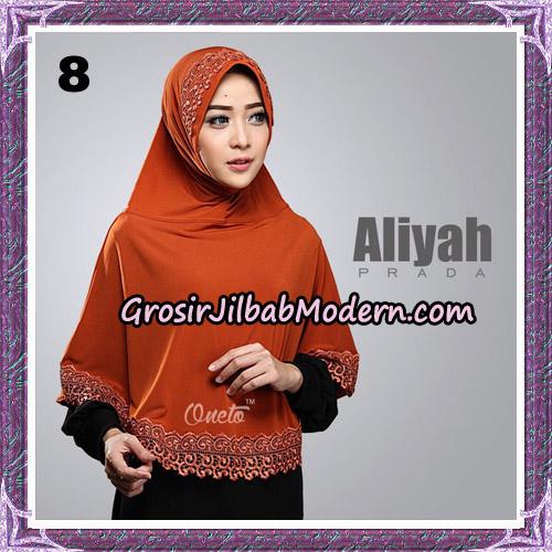 Jilbab Cantik Aliyah Prada Original By Oneto Hijab Brand No 8