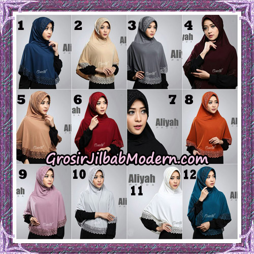 Jilbab Cantik Aliyah Prada Original By Oneto Hijab Brand