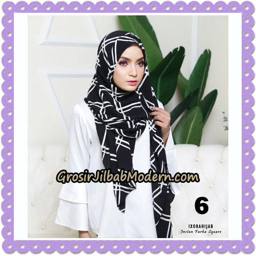 Jilbab Instant Cantik Farha Square Original by Ixora Hijab Brand No 6
