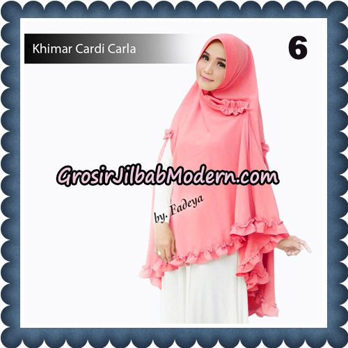 Jilbab Khimar Cardi Carla Original By Fadeya Brand No 6