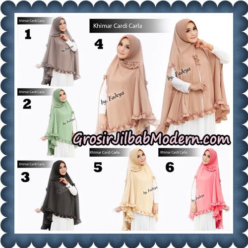 Jilbab Khimar Cardi Carla Original By Fadeya Brand