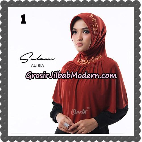 Jilbab Cantik Sulam Alisia Original By Oneto Hijab Brand No 1