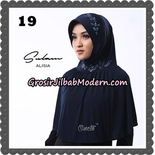 Jilbab Cantik Sulam Alisia Original By Oneto Hijab Brand No 19