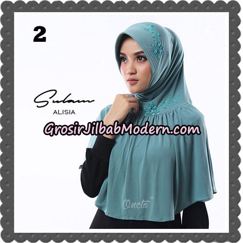 Jilbab Cantik Sulam Alisia Original By Oneto Hijab Brand No 2