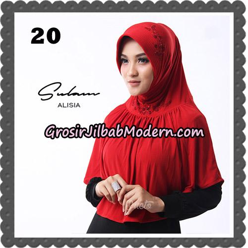 Jilbab Cantik Sulam Alisia Original By Oneto Hijab Brand No 20