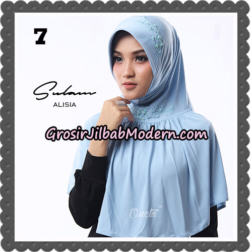 Jilbab Cantik Sulam Alisia Original By Oneto Hijab Brand No 7
