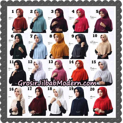 Jilbab Cantik Sulam Alisia Original By Oneto Hijab Brand