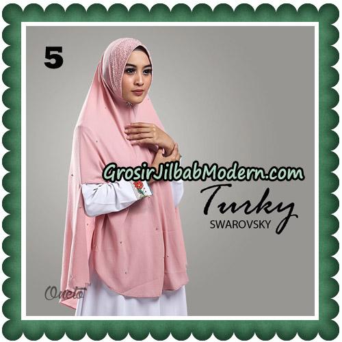 Jilbab Cantik Turky Swarovsky Original By Oneto Hijab No 5