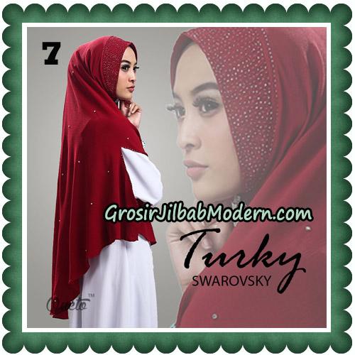 Jilbab Cantik Turky Swarovsky Original By Oneto Hijab No 7