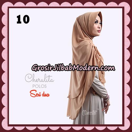 Khimar Instant Cherulita Polos Seri 2 Original By Oneto Hijab Brand No 10