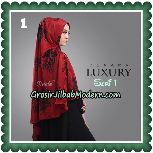 Jilbab Cantik Denara Luxury Seri 1 Original By Oneto Hijab No 1