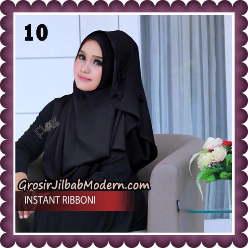 Jilbab Cantik Instant Ribboni Original By Flow Idea Hijab No 10