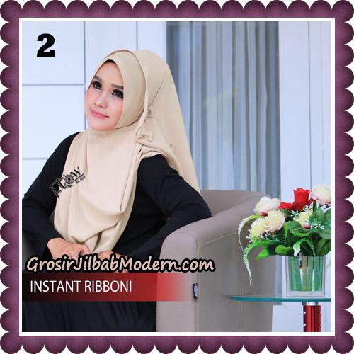 Jilbab Cantik Instant Ribboni Original By Flow Idea Hijab No 2