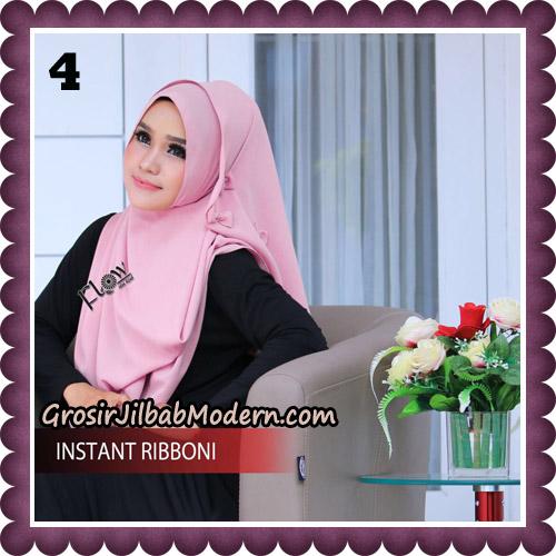 Jilbab Cantik Instant Ribboni Original By Flow Idea Hijab No 4