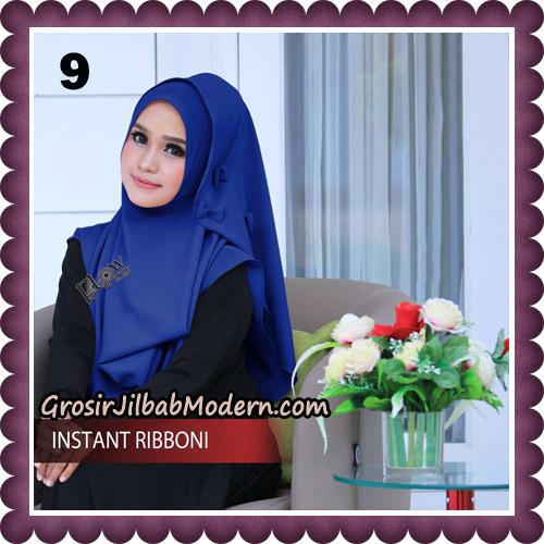 Jilbab Cantik Instant Ribboni Original By Flow Idea Hijab No 9