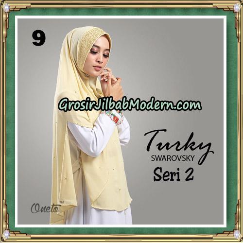 Jilbab Cantik Turky Swarovsky Seri 2 Original By Oneto Hijab No 9