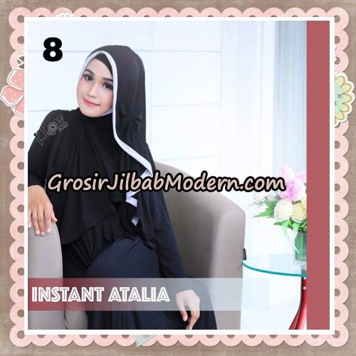 Jilbab Instant Atalia Original By Flow Idea Hijab No 8