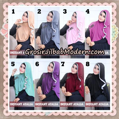 Jilbab Instant Atalia Original By Flow Idea Hijab