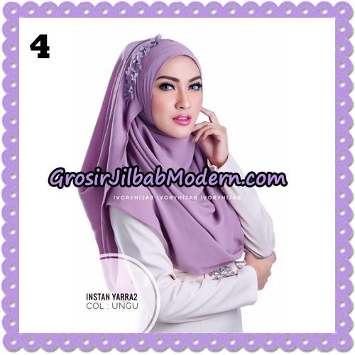 Jilbab Instant Yarra 2 Original by Ivory Hijab Brand No 4