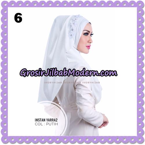 Jilbab Instant Yarra 2 Original by Ivory Hijab Brand No 6