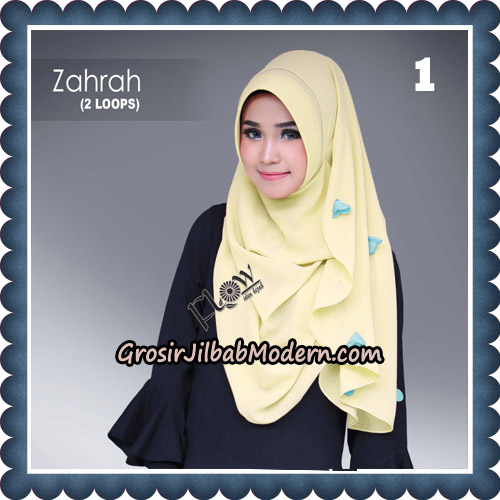 Jilbab Instant Zahrah 2 Loops Original By Flow Idea Hijab No 1
