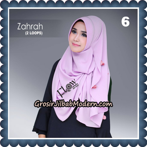 Jilbab Instant Zahrah 2 Loops Original By Flow Idea Hijab No 6