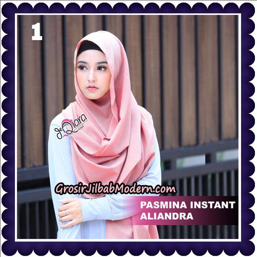 Jilbab Pashmina Instant Aliandra Original By deQiara Hijab Brand No 1