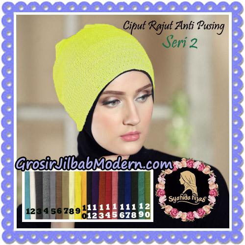 Ciput Rajut Anti Pusing Seri 2 By Syahida Hijab Brand
