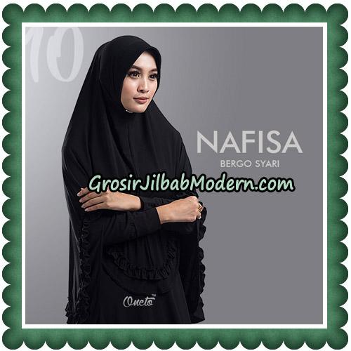 Jilbab Cantik Nafisa Bergo Syari Original By Oneto Hijab No 10