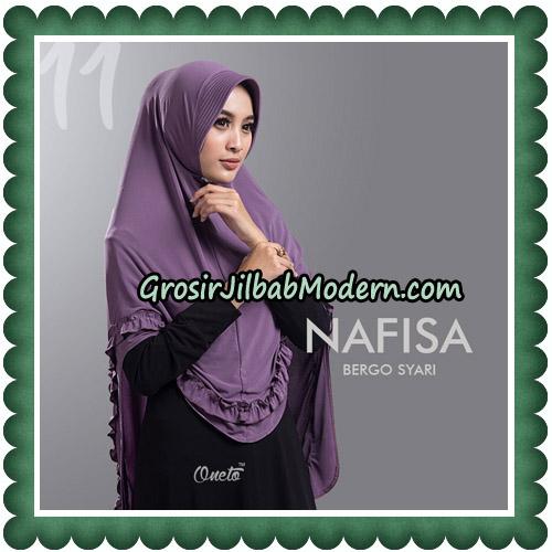 Jilbab Cantik Nafisa Bergo Syari Original By Oneto Hijab No 11