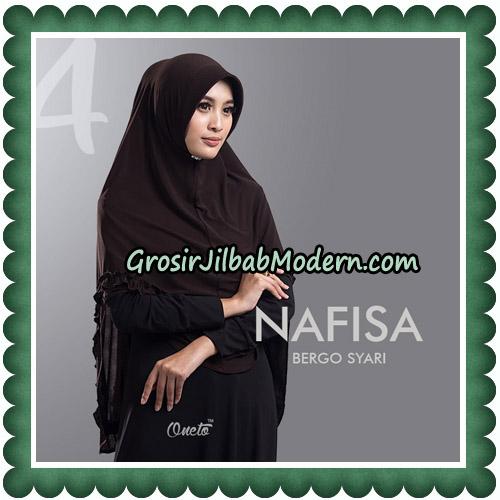 Jilbab Cantik Nafisa Bergo Syari Original By Oneto Hijab No 4