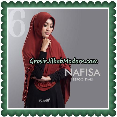 Jilbab Cantik Nafisa Bergo Syari Original By Oneto Hijab No 6