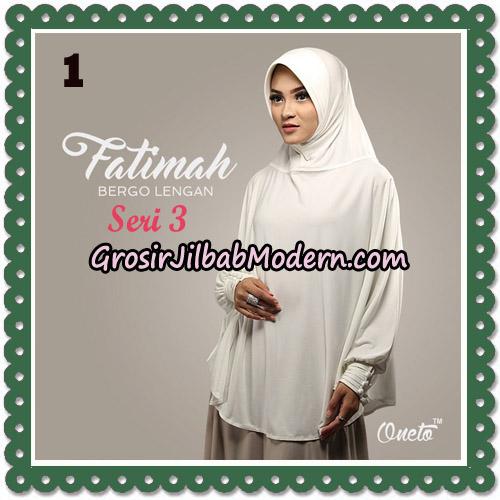 Jilbab Instant Cantik Bergo Lengan Fatimah Seri 3 Support Oneto No 1