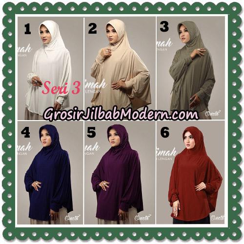 Jilbab Instant Cantik Bergo Lengan Fatimah Seri 3 Support Oneto