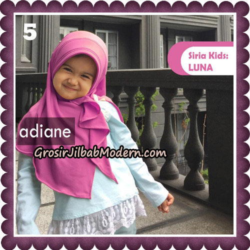 Jilbab Instant Siria Kids Luna Original By Adiane Hijab No 5