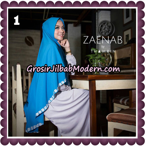 Jilbab Cantik Khimar Zaenab Original by Thamrin Hijab Brand No 1