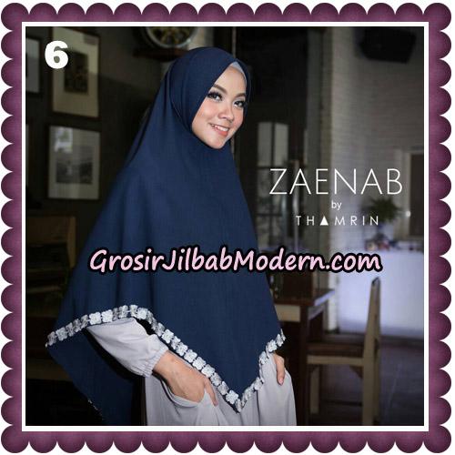 Jilbab Cantik Khimar Zaenab Original by Thamrin Hijab Brand No 6