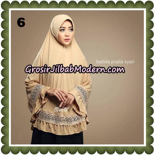 Jilbab Cantik Tsabita Prada Syari Original By Oneto Hijab Brand No 6