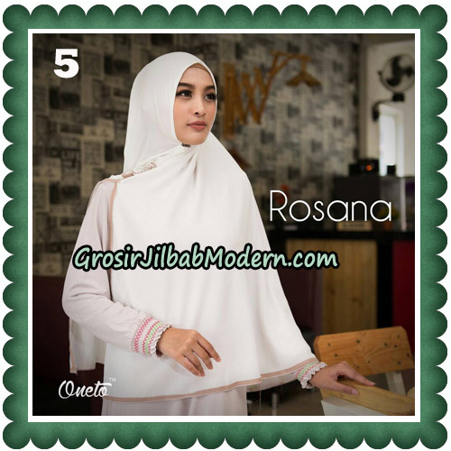 Jilbab Instant Rosana Original By Oneto Hijab Brand No 5