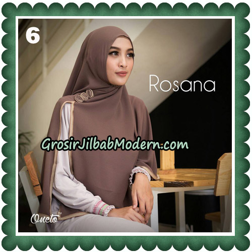 Jilbab Instant Rosana Original By Oneto Hijab Brand No 6