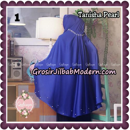 Jilbab Syari Khimar Tanisha Pearl Original by Qalisya Hijab Brand No 1