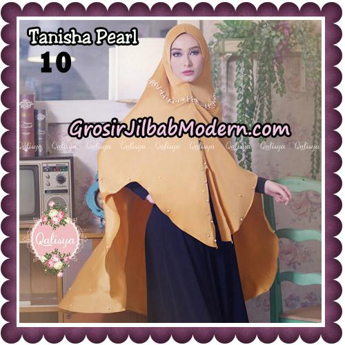 Jilbab Syari Khimar Tanisha Pearl Original by Qalisya Hijab Brand No 10